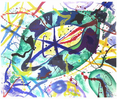 Sam Francis, 'Trietto 1', 1991