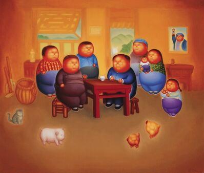 Pan Dehai, 'Family Chat', 2013