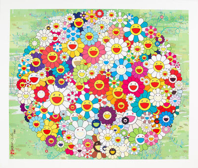 Takashi Murakami, 'Open Youd Hands Wide', 2010