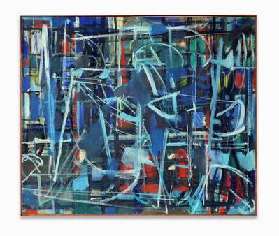 Robert Goodnough, 'Abstract in Blue', ca. 1950