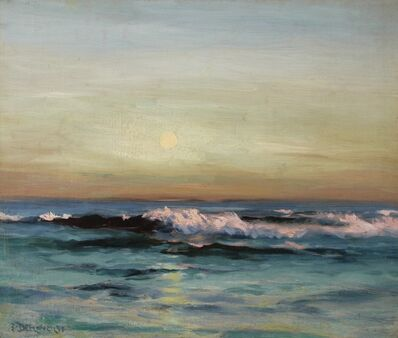 Franklin De Haven, 'Sunrise Waves', 1898