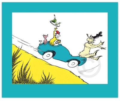 Dr. Seuss, 'Dr. Seuss, Would You? Could You? In a Car?'