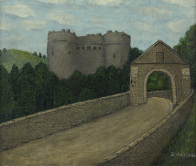 John Kane, 'Castle in Scotland', Undated