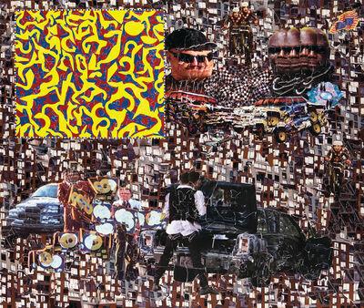 Michael Anderson, 'Gold record car crash', 2008