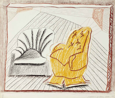David Hockney, 'A Picture of Two Chairs , from Moving Focus', 1985-1986
