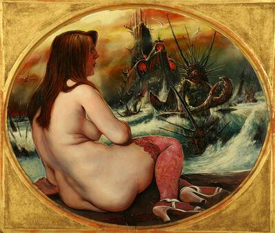 Fritz Aigner, 'Mädchen mit Krebsen (Girl with Crabs)', 1969