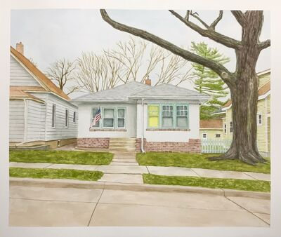 Joshua Huyser, 'Landscape with Yellow Window', 2018