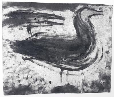 Miriam Cahn, 'L.I.S. die vögel, die mich heute morgen riefen, 23.9.87', 1986