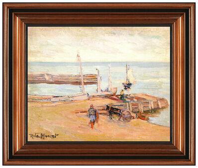 Rita Mount, 'Gaspe Harbor', 20th Century