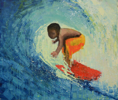Rebecca Kinkead, 'Surfer', 2017