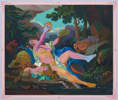 Andy Dixon, 'Bacchante Painting', 2021