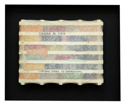Guglielmo Achille Cavellini, 'Cassa N. 289', 1968