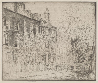 Joseph Pennell, 'Great College Street, Westminster', 1904