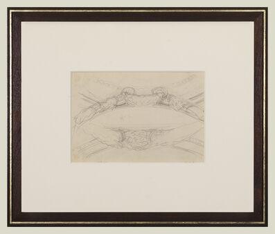 John Singer Sargent, 'Garland Studies I', 1922-1925