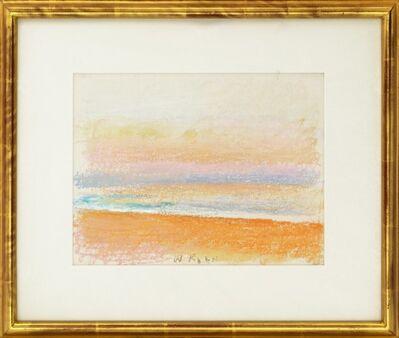 Wolf Kahn, 'A Beach in Kauai', 1994