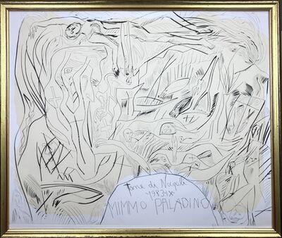 Mimmo Paladino, 'Tane di Napoli ', 1983