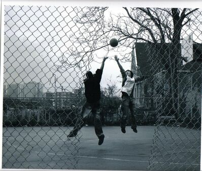 Jamel Shabazz, 'Ball Players', ca. 1980