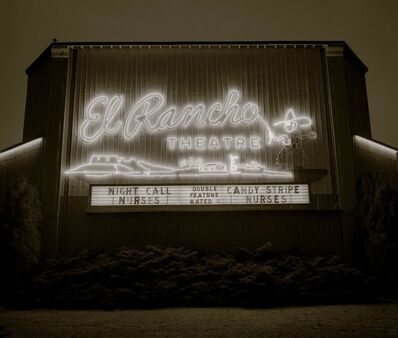 Steve Fitch, 'Drive-in theater, Dalhart, Texas', 1974