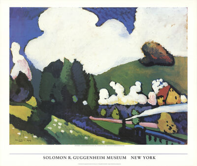 Wassily Kandinsky, 'Landscape Near Murnau with Locomotive', 1986