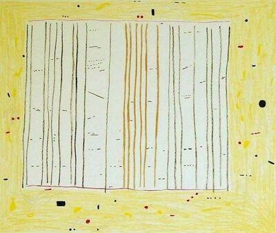Gene Davis, 'Yellow Jack', 1979