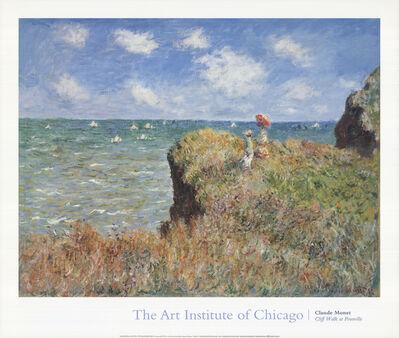 Claude Monet, 'Cliff Walk at Pourville', 1992