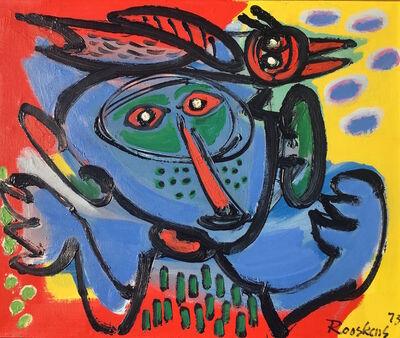 Anton Rooskens, 'Vogelman', 1973