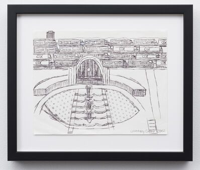 Courttney Cooper, 'Union Terminal and Train Yard', 2002