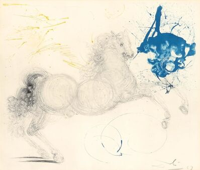 Salvador Dalí, 'Pegasus (F. 63-3B)', 1963