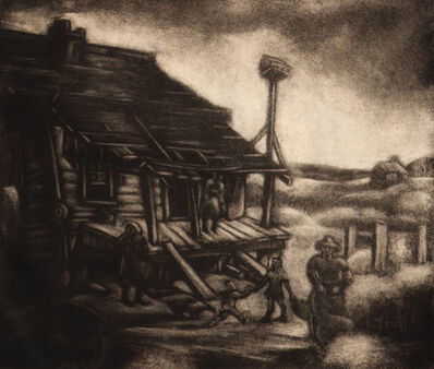 Dox Thrash, 'Cotton Picking in Georgia '