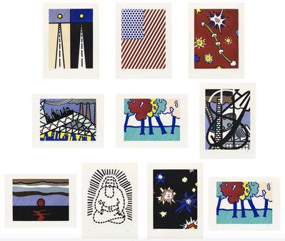 Roy Lichtenstein, 'La Nouvelle Chute de L'Amerique', 1992