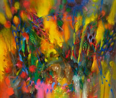 Carlos Jacanamijoy, 'Amanecer en flor', 2018