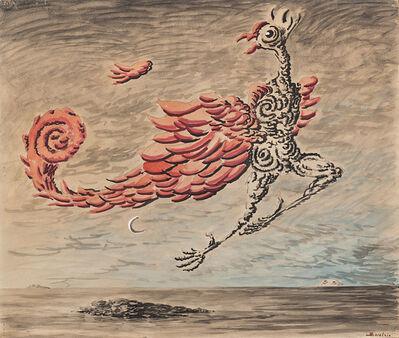 Alberto Savinio, 'L'uccello di fuoco', 1949
