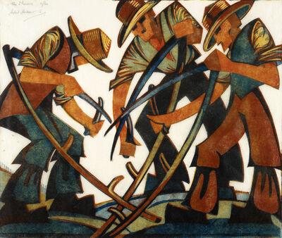 Sybil Andrews, 'Mowers', 1937
