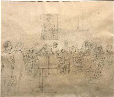 Camille Pissarro, 'Velada musical en Caracas', Late 19th century