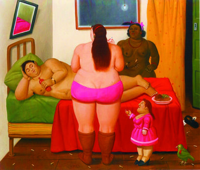 Fernando Botero, 'The Whore House', 2009