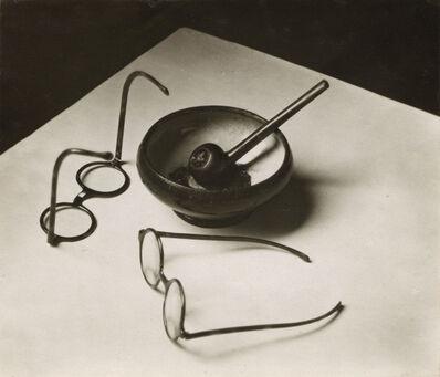 André Kertész, 'Mondrian's Glasses and Pipe, Paris', 1926