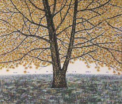 Sanzi, '金秋 The golden autumn (limited print)', 2015