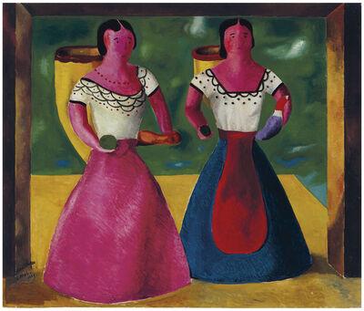 Roberto Montenegro, 'Figuras de barro', 1947
