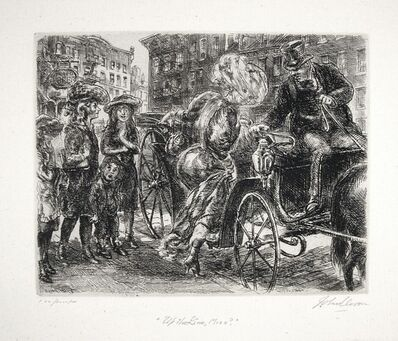 "John Sloan, '""Up the Line, Miss?""', 1930"