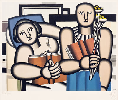 Fernand Léger, 'La Lecture (The Reader)', ca. 1953