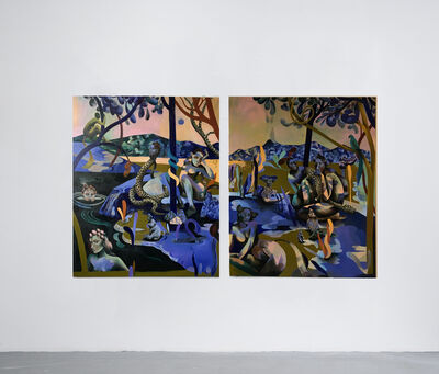 Jessie Makinson, 'Way Up Blue', 2018