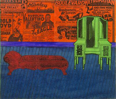 Larry Lewis, 'Untitled (Boulavard)', ca. 1970