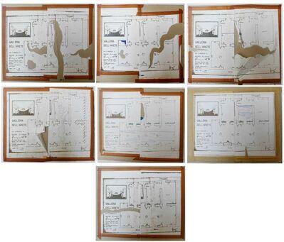 Barry Flanagan, '7 Drawings', 1968