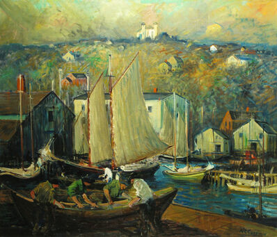 Arthur Clifton Goodwin, 'Gloucester, Massachusetts'