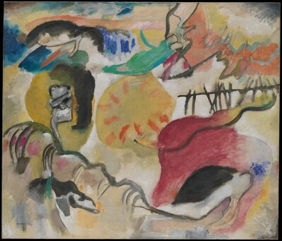 Wassily Kandinsky, 'Improvisation 27 (Garden of Love II)', 1912