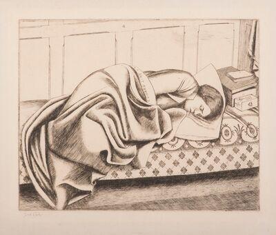 Frederick Austin, 'Woman Sleeping (Cunard Line)', 1932