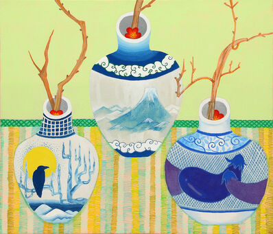 Sachiho Ikeda, 'Unobtrusive Japanese Plum', 2014