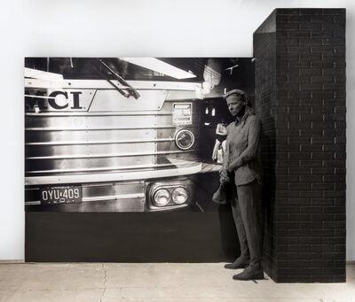 George Segal, 'Bus Station', 1995