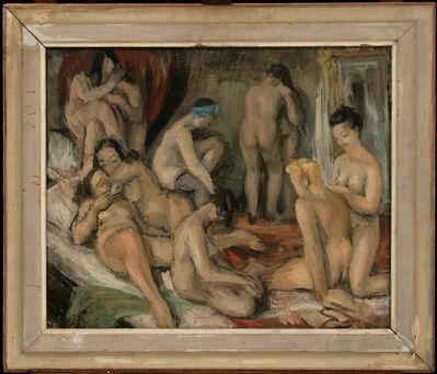 GABRO RAJČEVIĆ, 'In Harem', 1943
