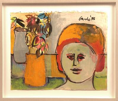Harold Garde, 'Still Life with Face', 1973
